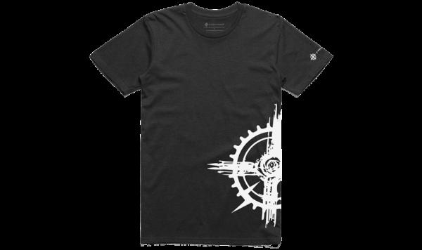 Rayvolt T-shirt - Grey + White
