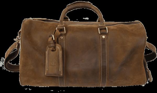 Rayvolt Leather Travel Bag