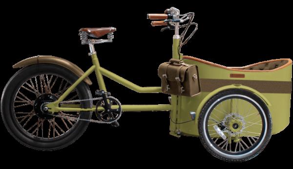 Rayvolt Trixie - Green - cargo e-bike