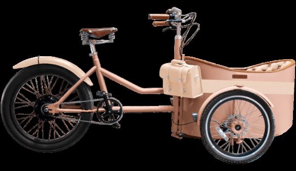 Rayvolt Trixie - Orange - cargo e-bike