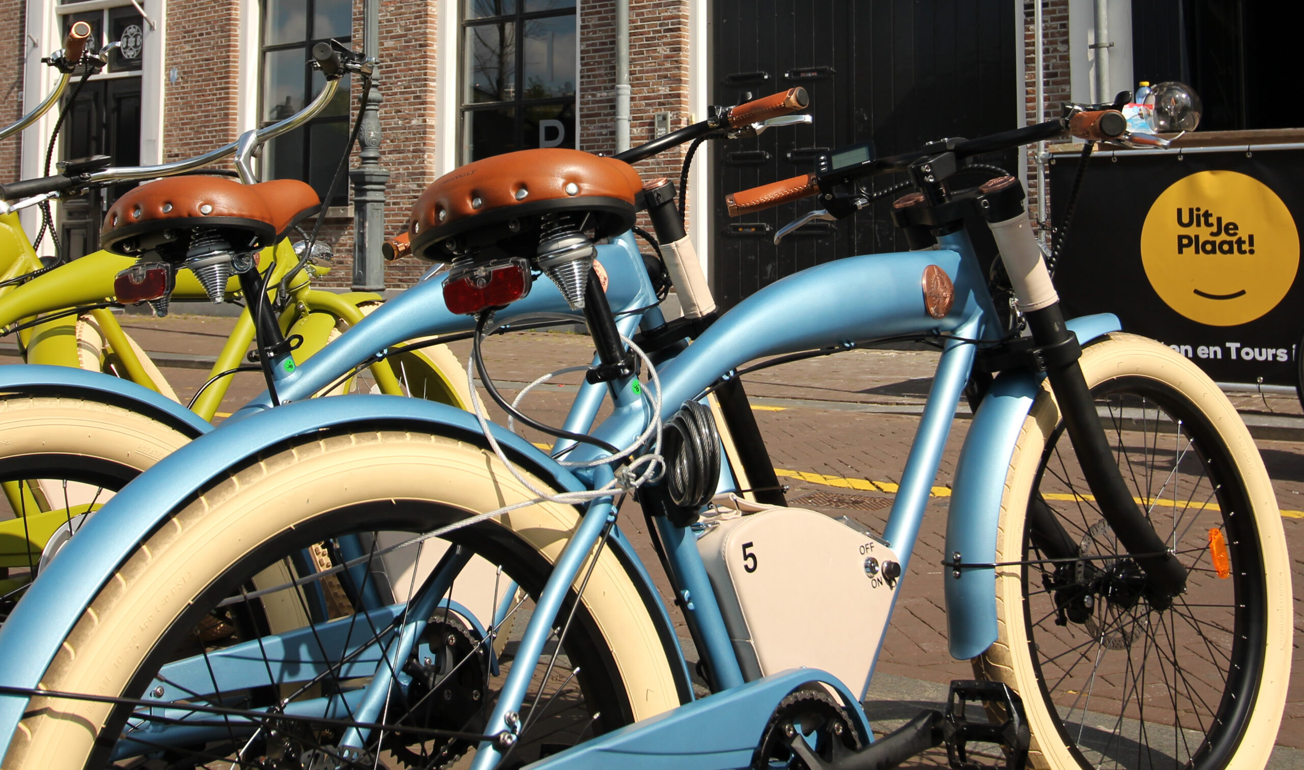 Uit Je Plaat & New Cool Electric